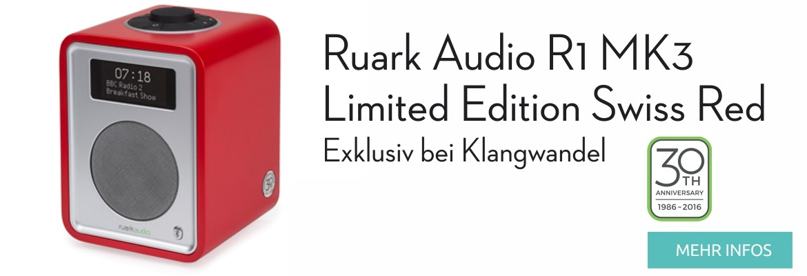 Ruark Audio R1 MK3 Limited Edition Swiss Red